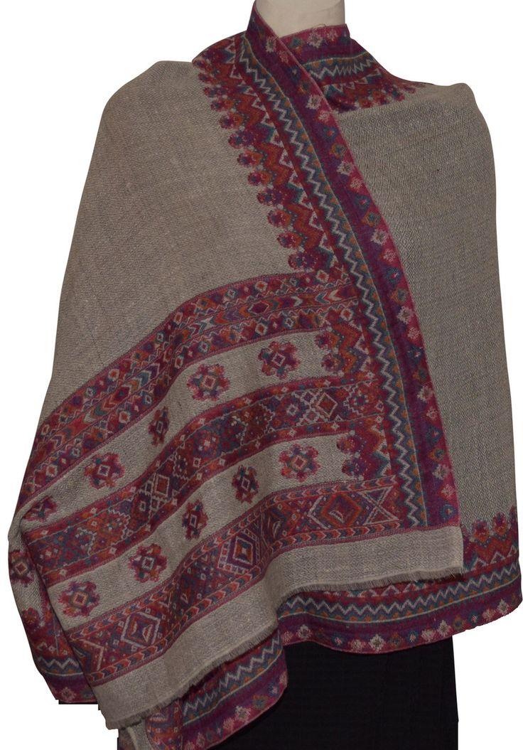 Dezinery - Pure Pashmina Kashmiri Shawl , $175.00 (http://www.dezinery.com/pure-pashmina-kashmiri-shawl/)