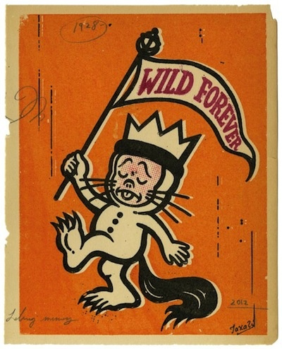 Rumpus time!Wild Things, Illustration, Maurice Sendak, Childhood Book, Gary Taxali, Wild At Heart, Kids Book, Wild Forever, Pictures Book