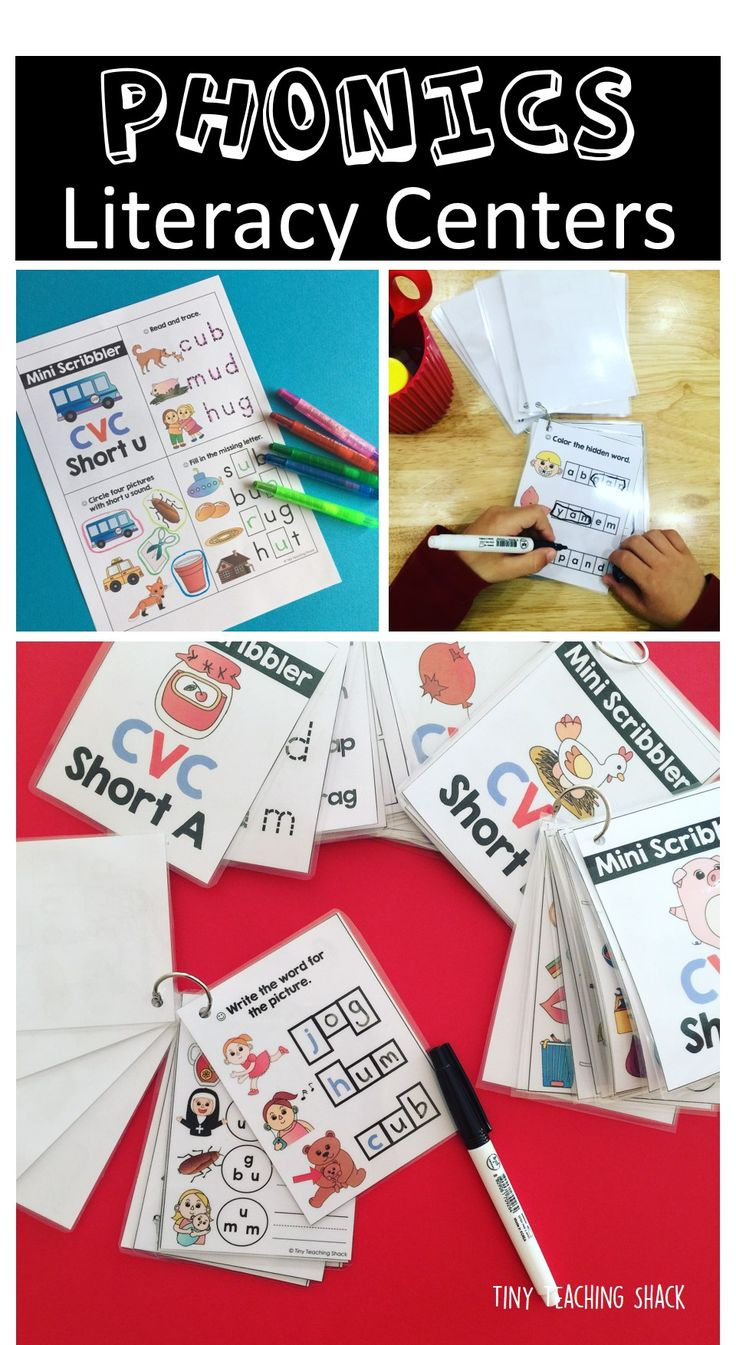 The packet includes fun printables for your students to practice CVC words. You can click the preview to learn more about how to use these Mini Scribblers. You can place them in your literacy centers or early-finisher baskets and your students will just love these write and wipe activities. Some teachers may choose to use it in small group instructions or RTI. These would be perfect to support your reading readiness for kindergarten, ESL students, or in first grade.
