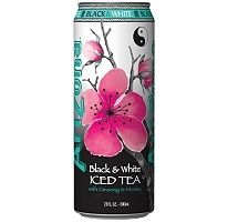 Arizona Black and White tea.. I love this stuff!-Even the can is pretty.