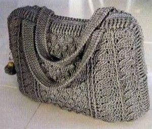 Вязаные сумки | Вязание спицами и крючком – Азбука вязания