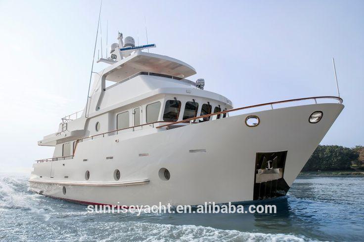 65ft Steel Luxury Yacht For Sale Ocean Going Boat Cabin Cruiser Trawler Style