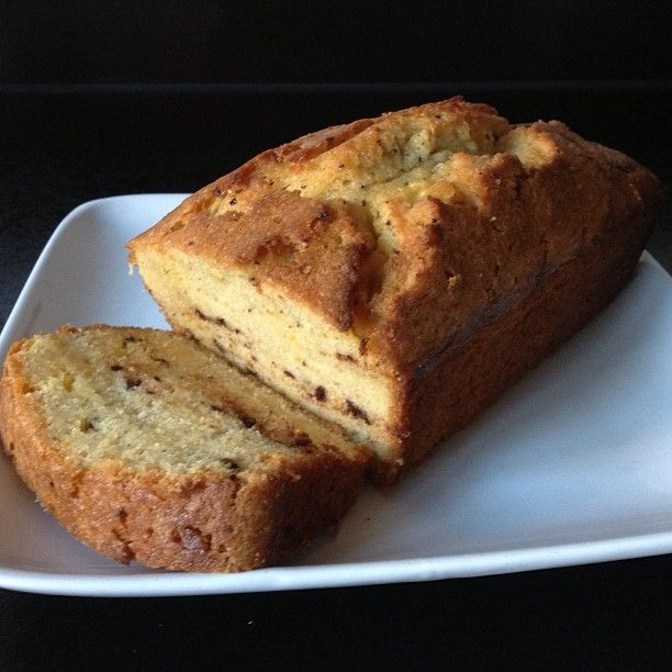 Chocolate orange drizzle loaf #glutenfree #dairyfree #lowfodmap #delish #Padgram