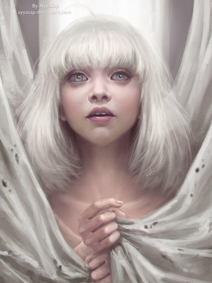Maddie Ziegler (Sia - Chandelier) by AyyaSap on DeviantArt