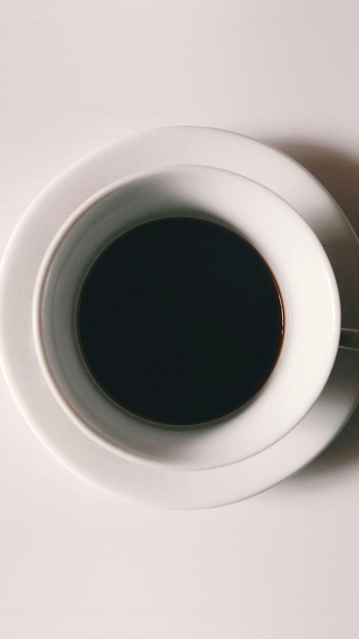 Cup Coffee Simple Minimal Art Iphone 6 Plus Wallpaper In