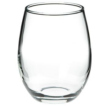 9 oz perfection stemless wholesale wine glass