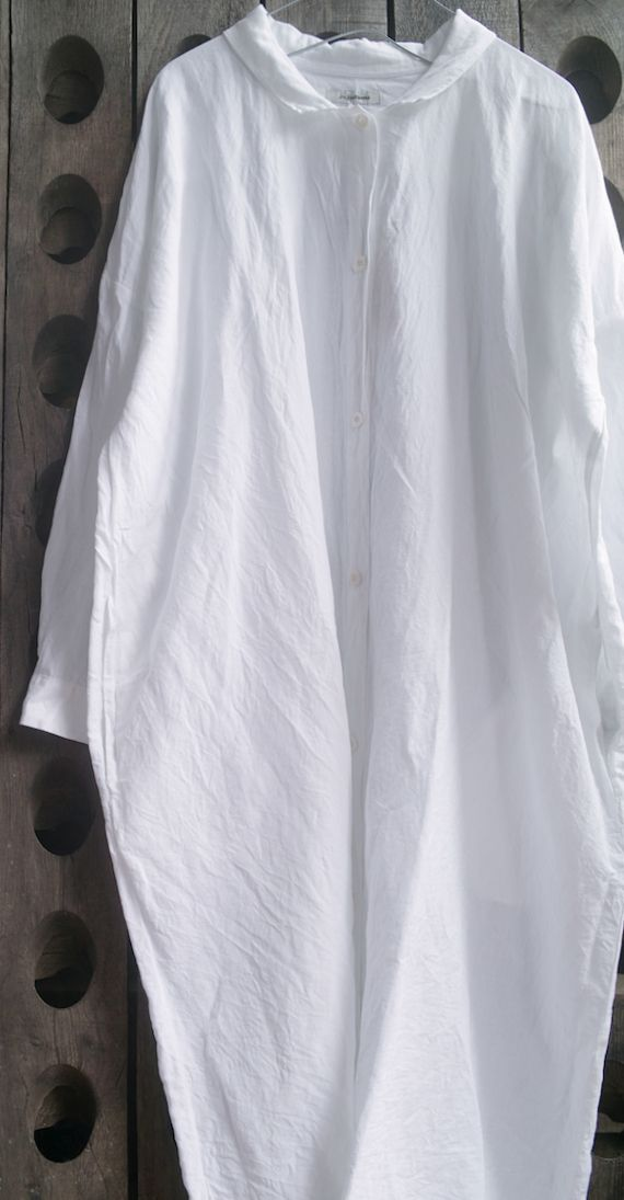 Cotton Linen Shirt Dress - Jujudhau