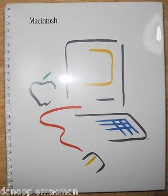 1984 Apple Macintosh 128K FACTORY SEALED User Manual Picasso Mac M0001 RARE! - http://electronics.goshoppins.com/vintage-computing/1984-apple-macintosh-128k-factory-sealed-user-manual-picasso-mac-m0001-rare/
