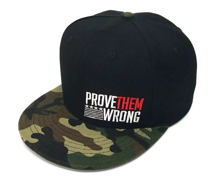 The PROVE THEM WRONG SNAPBACK was a best seller and an important piece of our first release. This version was handpicked by you through our Instagram poll – and is dedicated to those that prove them wrong on a daily basis.