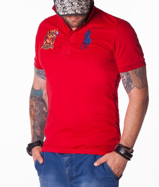 Ralph Lauren Tricouri Polo - Classic tricou polo rosu