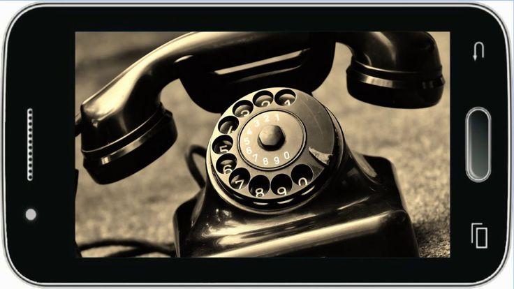 Fajny dzwonek do telefonu - Old Telephone