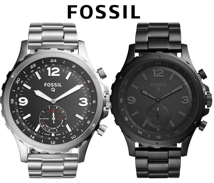 ⌚ Fossil Q Smartwatch  #uhr #herrenuhr #armbanduhr #fossil #smartwatch #herrenarmbanduhr #gent #menswear