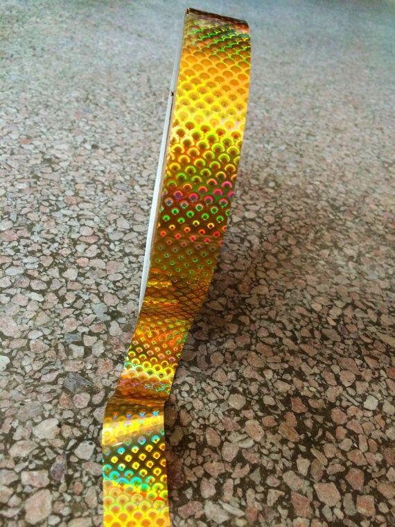 Oro serpiente arco iris intensa cinta Rolls mejor calidad