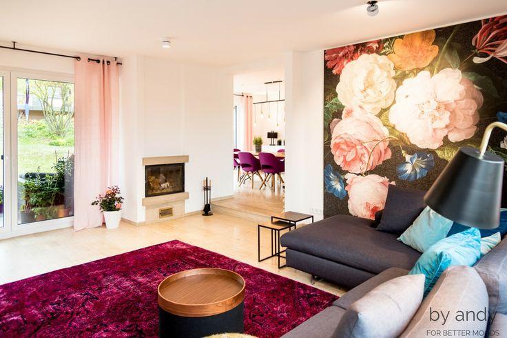 Ein wahre Vielfalt an Farben. #color #cat #carpet #couchtische #interiordesign #livingroom #livingroomideas