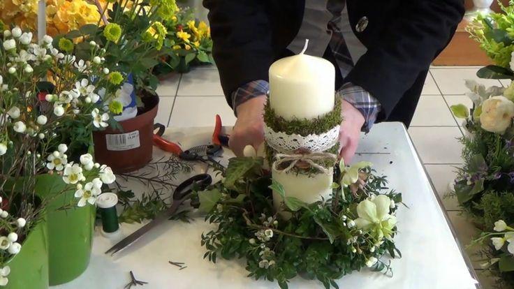 Jak zrobić wianek wielkanocny ze świecą