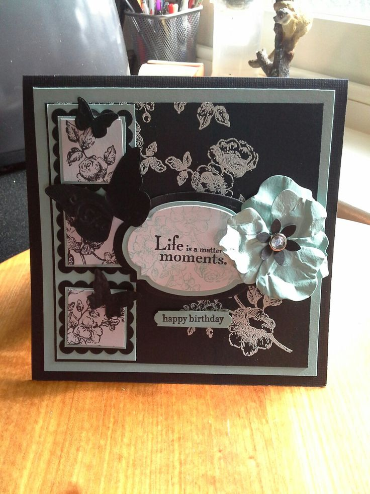 Made using Stampinup  Elements of style