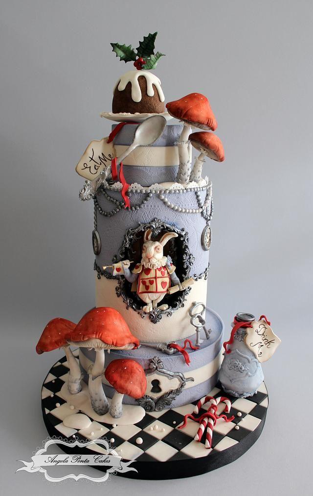 Christmas In Wonderland 2020 Christmas in Wonderland!   cake by Angela Penta в 2020 г