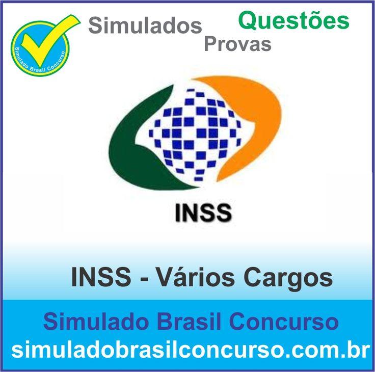 Boa tarde Concurseiro, para vocês que irão prestar e PASSAR no concurso do INSS, nós do Simulado Brasil Concurso já estamos com inúmeros simulados, provas e questões do concurso do INSS.  http://simuladobrasilconcurso.com.br/simulados/concursos  Descubra!!! Compartilhe!!! Curta!!!  Muito Obrigada e Bons Estudos, Simulado Brasil Concurso  #simuladobrasilconcurso, #provasINSS, #questõesINSS, #simuladosINSS
