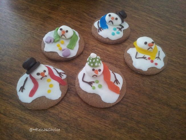 Snowman Cookies. So easy and So much fun with the kids!