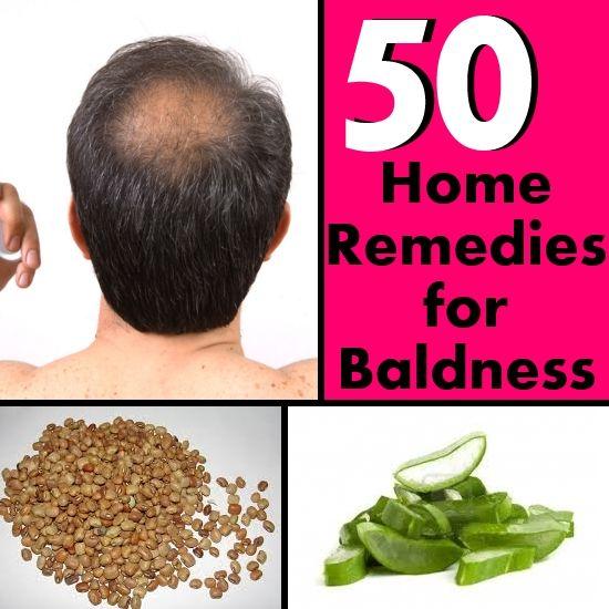 how to grow hair on bald head home remedies