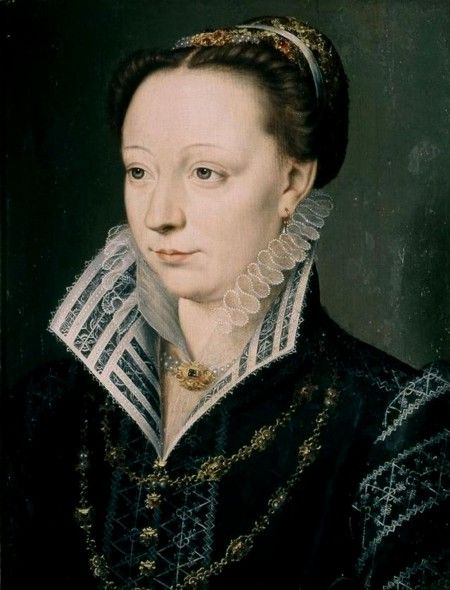 .:. Catherine de' Medici (a very realistic portrait of her which shows, why her contemporaries described her as a very beautiful woman)