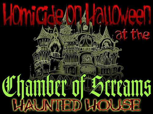 An exciting Halloween Murder Mystery in a Haunted House setting for 8-16+ guests, ages 15+ (for challenge level).
