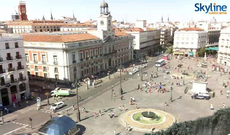 15 best web cams images on pinterest live grout and malta - Webcam puerta del sol ...