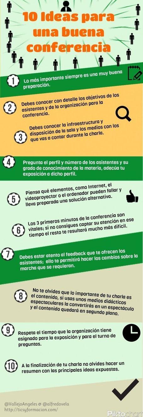 10 Consejos para una buena presentación | Educacion, ecologia y TIC | Scoop.it