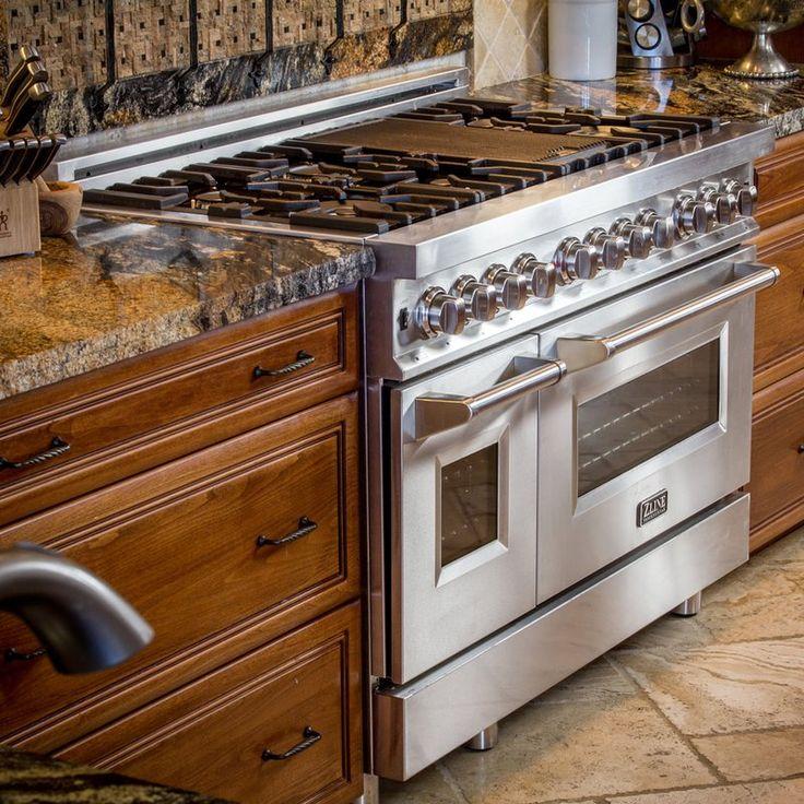 48 6 cu ft freestanding dual fuel range range cooker