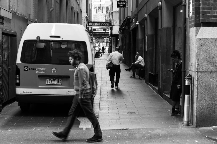 I really like this image, there is so much different movement occurring in this frame, with not one person paying attention to anyone else - I felt this was a perfect example of what city life can be like.