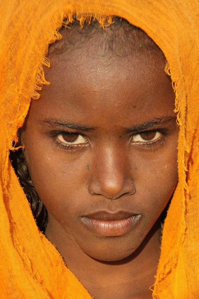 Afar tribal people.