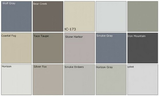 Grey paint colors Repin and like :)