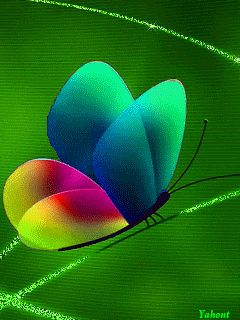 Decent Image Scraps: Butterfly Animation