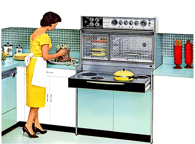 Image result for retro mom in kitchen images