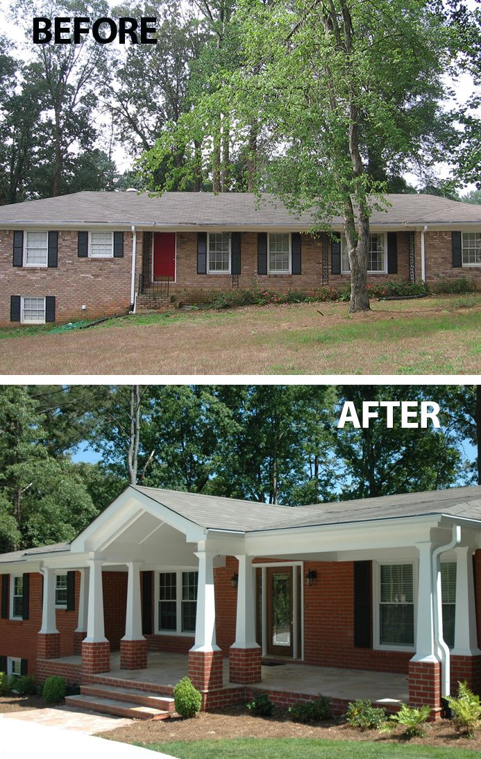 191 best Ugly House Makeovers images on Pinterest Exterior