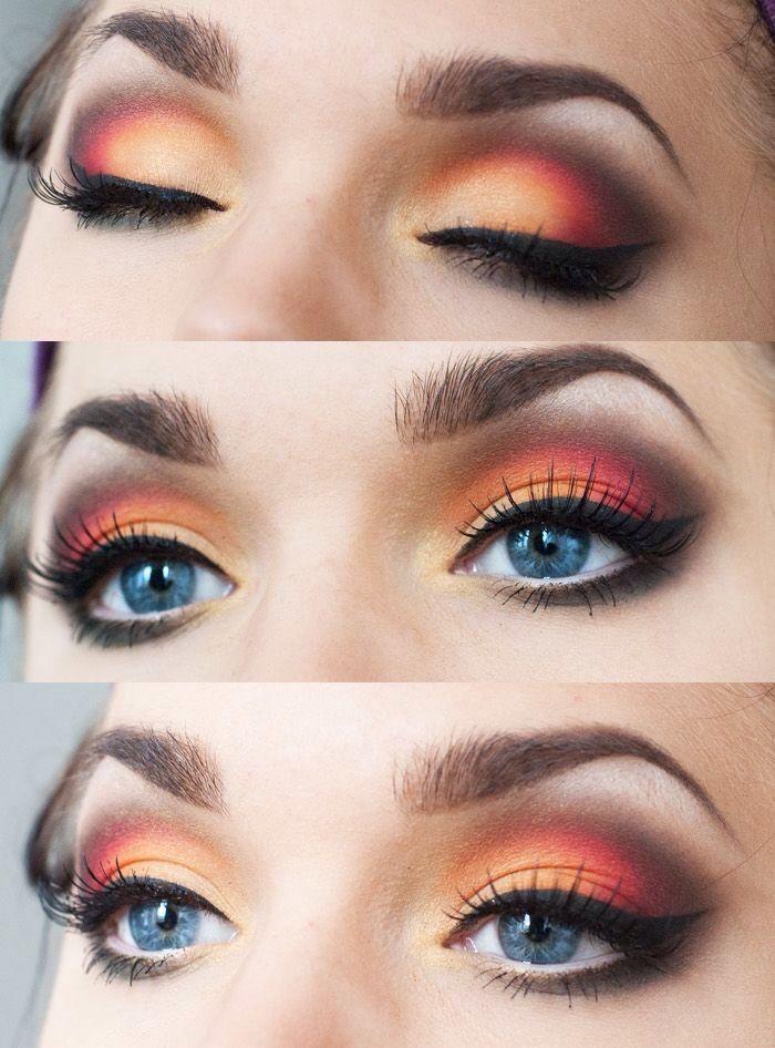 17 Best Ideas About Sunset Makeup On Pinterest