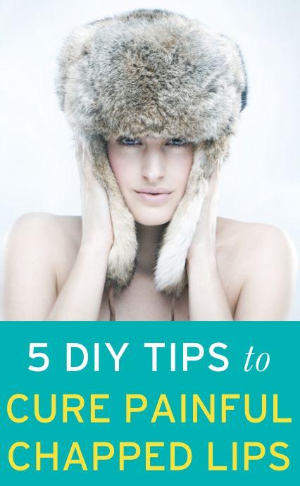 DIY tricks for healing chapped lips