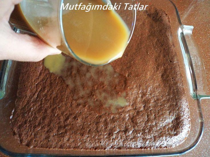 ADI AĞLAYAN PASTA AMA YERKEN İNANILMAZ MUTLU EDİYOR:) ♥   Bu pastayı diğer yaş pastalardan da...