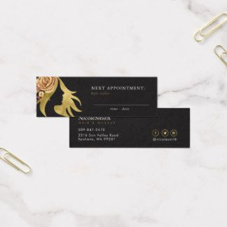 36 best makeup artist professional logo beauty salon business card appointment reminder professional beauty salon mini business card flashek Choice Image