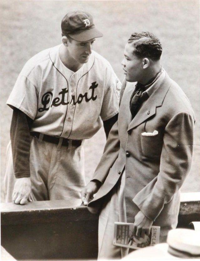 Hank Greenberg and Joe Louis