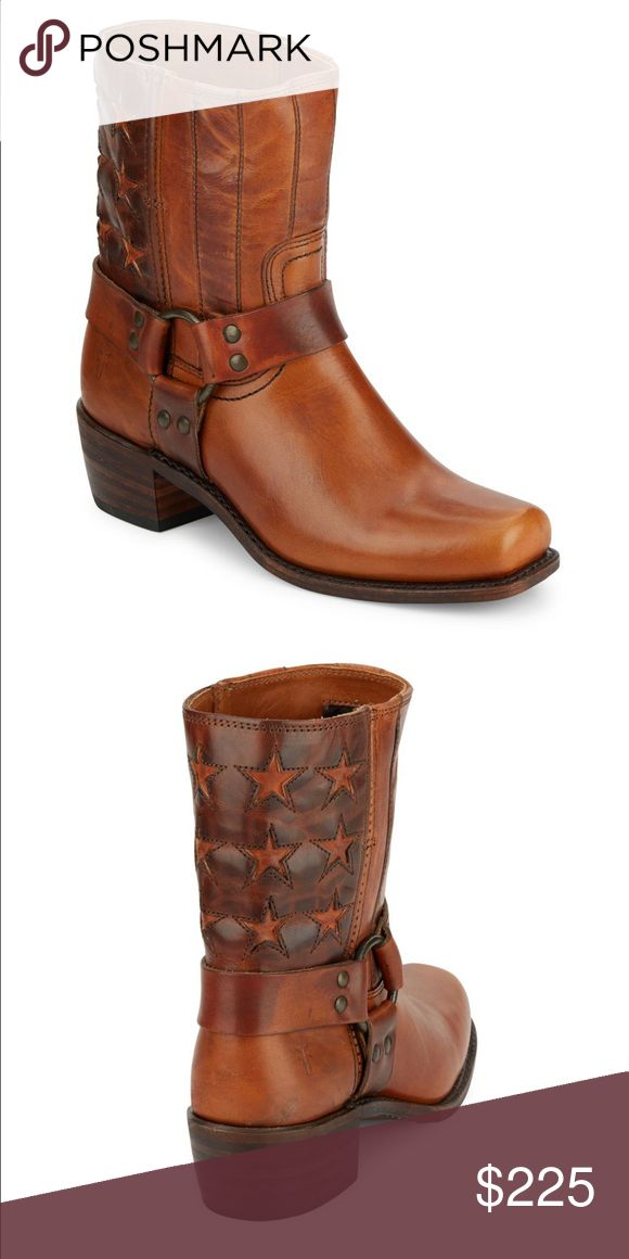 Frye boots (Americana) New Frye boots! Size 5.5 however it's big and can fit to size 7-7.5 US. Frye Shoes Ankle Boots & Booties