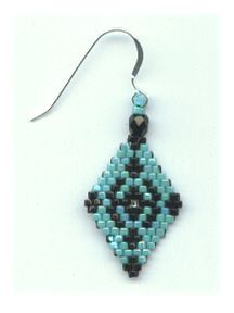 Brick Stitch Patterns from rubysbeadwork ~ Seed Bead Tutorials