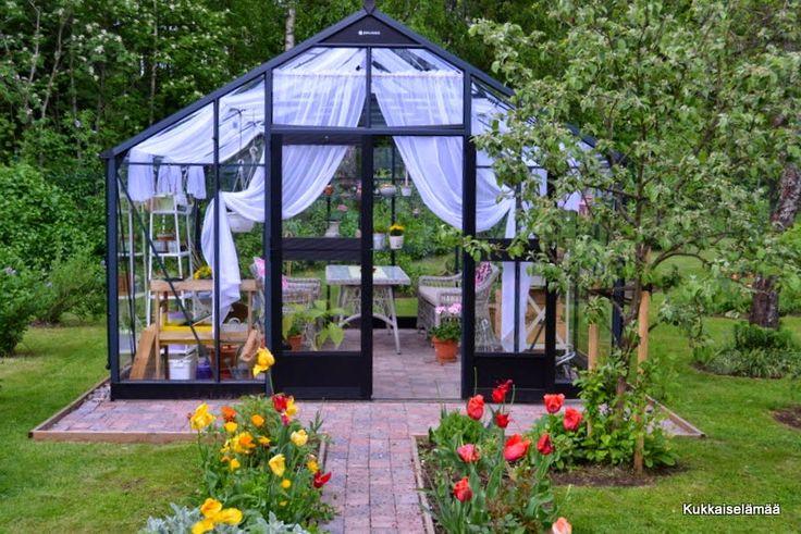 Kukkaiselämää - My Flowering Life : kasvihuone