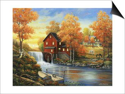 17 best john zaccheo paintings images on pinterest art for Best brand of paint for kitchen cabinets with cross stitch wall art