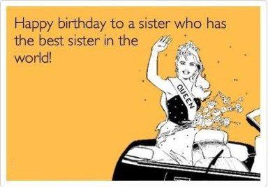 Happy Birthday Funny Meme Sister