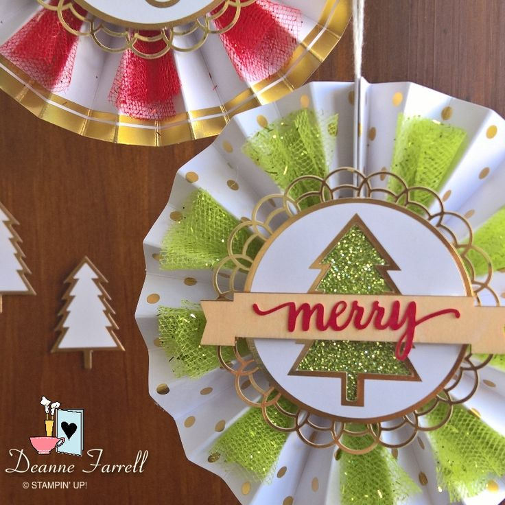 Stampin' Up! Be Merry Kit - 2017 Holiday Catalogue
