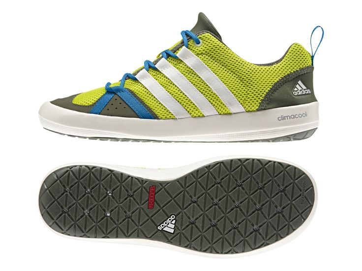 adidas Outdoor Men& Climacool Boat Lace Water Shoe, Colonel Navy& White& M  US