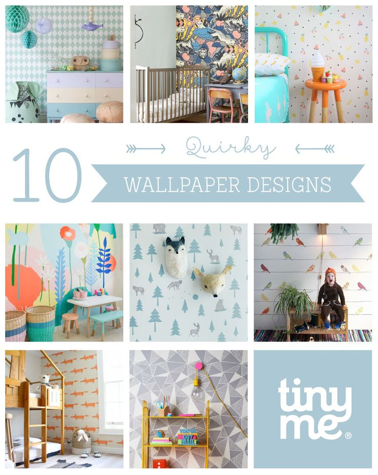 10 Quirky Wallpaper Designs ~ Tinyme
