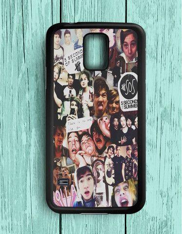 5 Second Of Summer Collage Art 5 SOS Music Samsung Galaxy S5 | Samsung S5 Case
