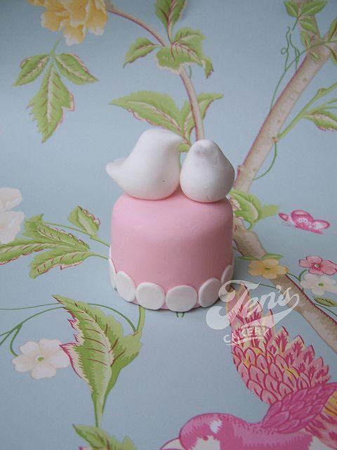 mini - cake! Too cute